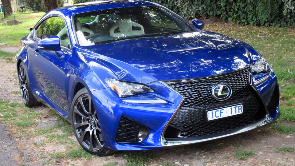 Lexus RC F Review: A Track Day Beast Unleashed