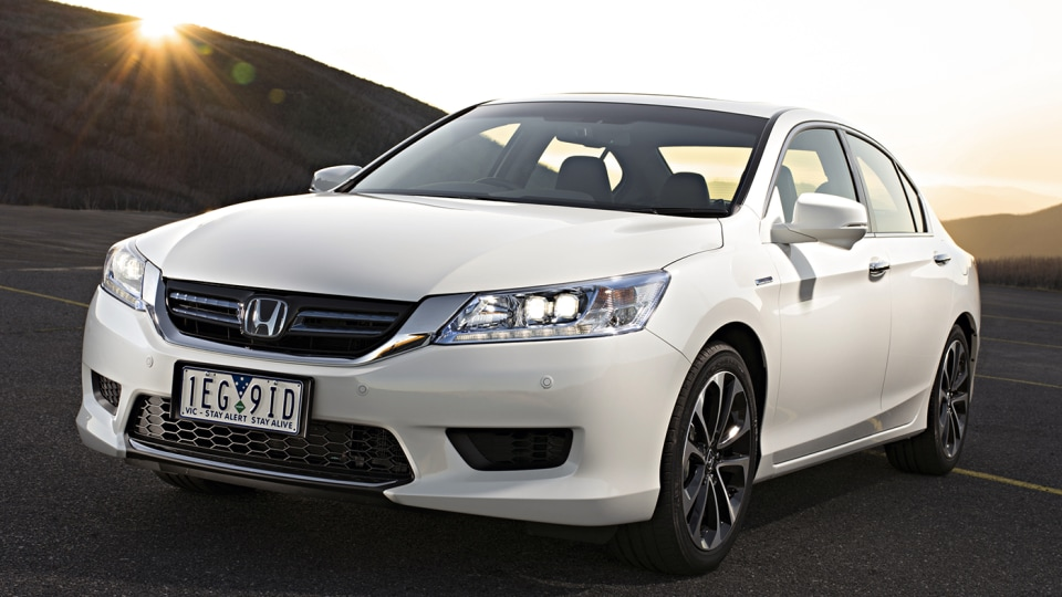 Honda Accord Hybrid Switched-Off In Australia