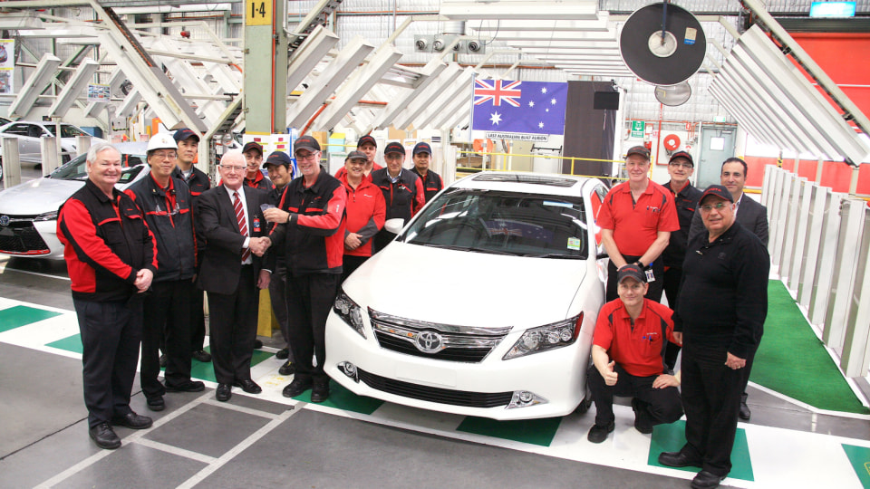 Toyota Aurion Production Comes To A Close Ahead Of Local Shutdown