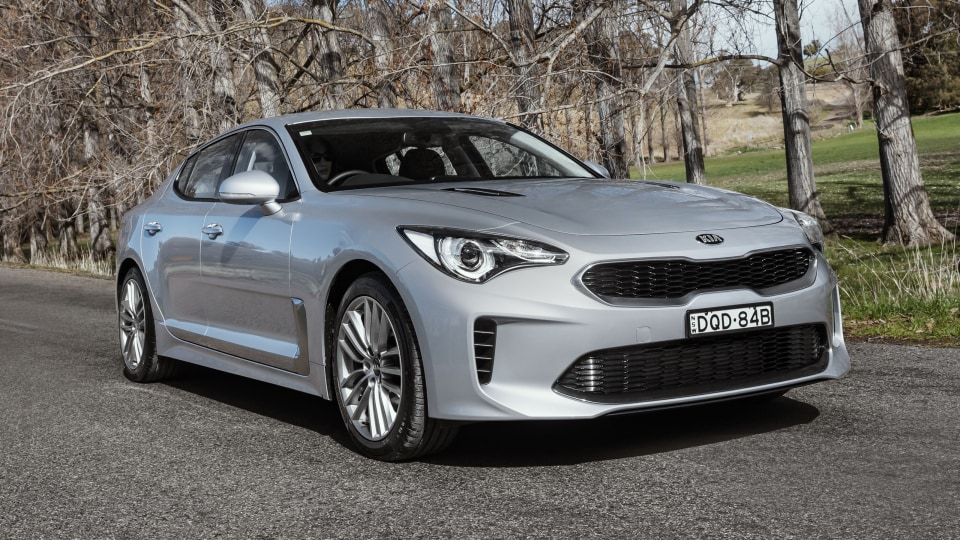 Entire Kia Stinger range gets AEB as standard