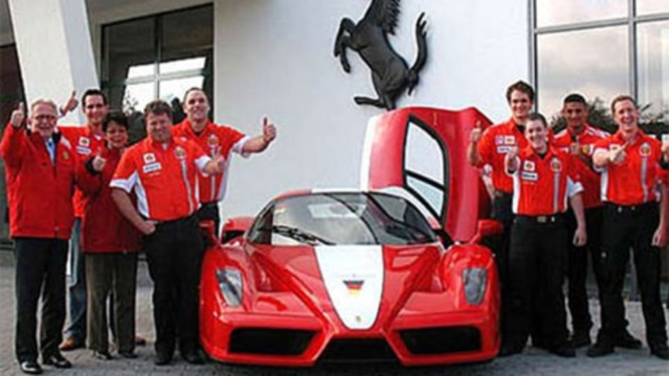 Ferrari to get 'Ringside Presence in New Facility