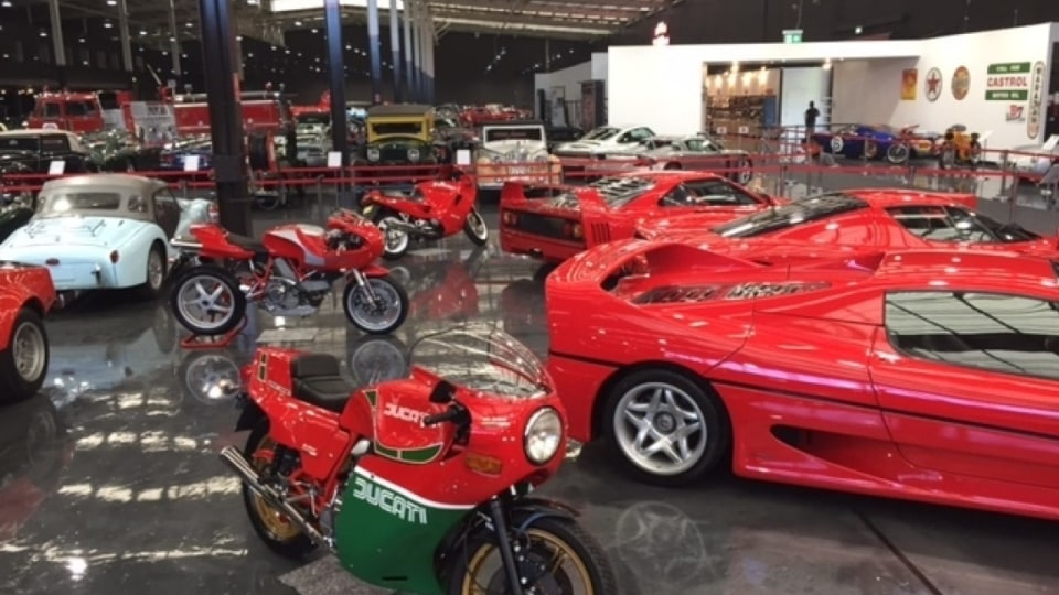 Some of the metal on show at the Gosford Classic Car Museum, Australia's largest private car collection.