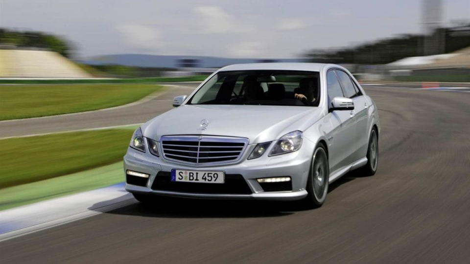 2010 Mercedes-Benz E63 AMG Gets Sideways In New Promo Video