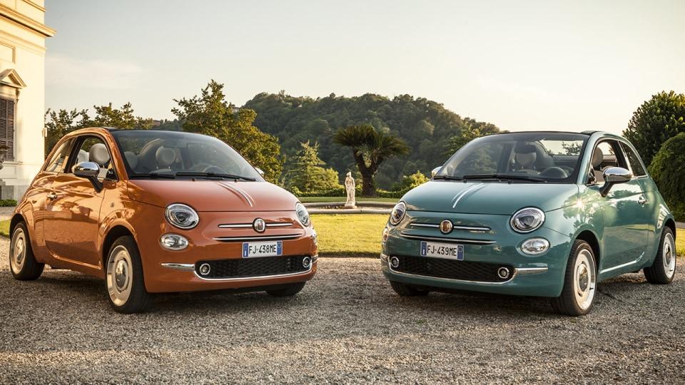 2018 Fiat 500 Anniversario.