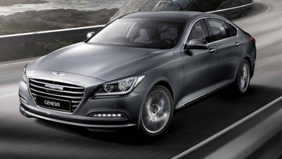 Hyundai Genesis coupe.