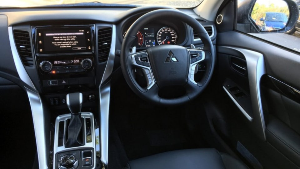 Unlike other markets, whereh the Pajero Sport is fitted with a seven-seat layout, Australian vehicles are five-seat only.