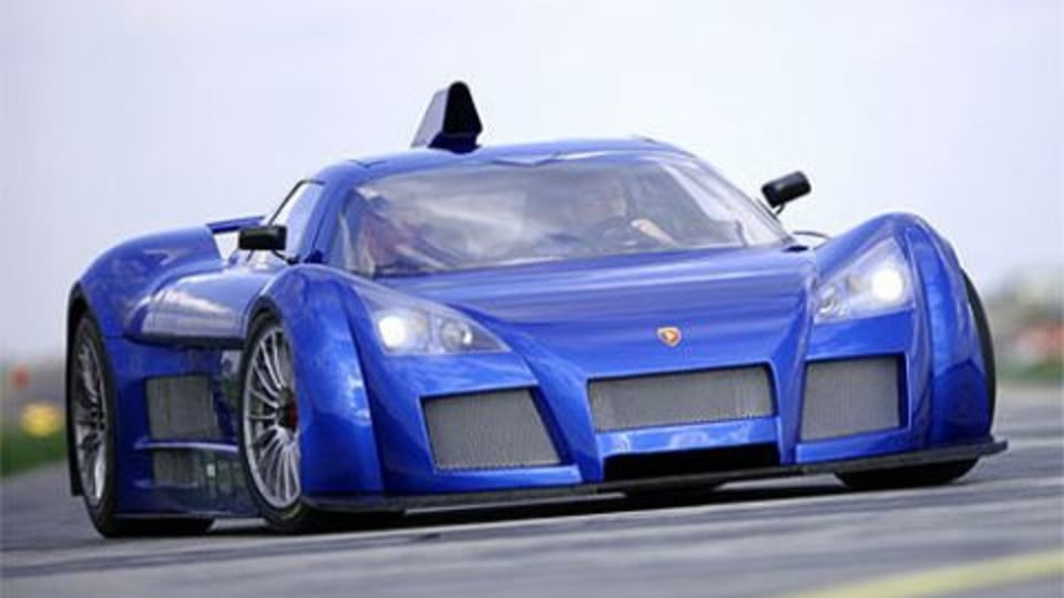 Gumpert Apollo Grabs 1st on Top Gear Test Track