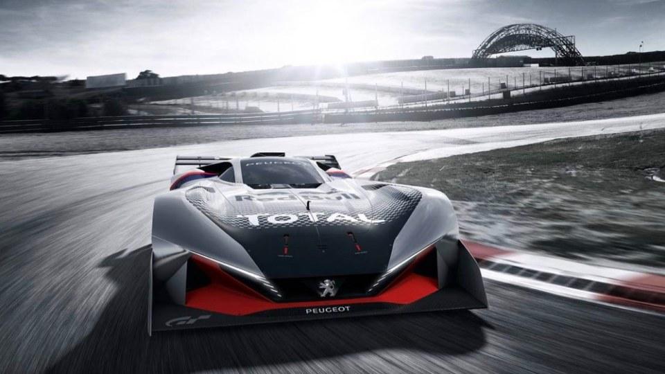 Peugeot L750 R Hybrid Vision Gran Turismo Makes Virtual Debut