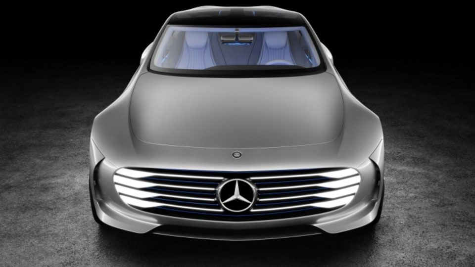 Mercedes-Benz Intelligent Aerodynamic Automobile (IAA) concept.