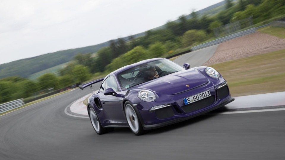 The Porsche 911 GT3 RS is part-road car and part-racing machine.