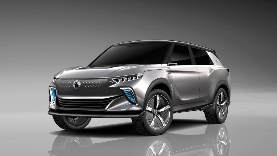 SsangYong reveals e-SIV electric SUV concept