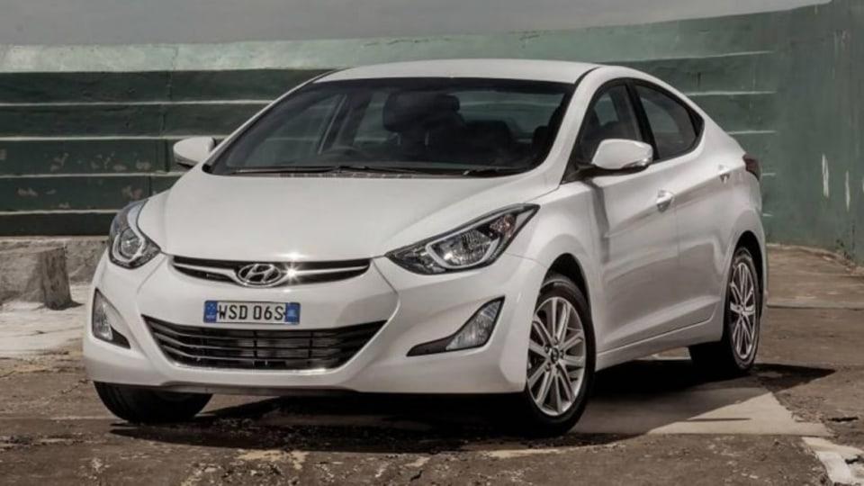 Hyundai Elantra Elite.