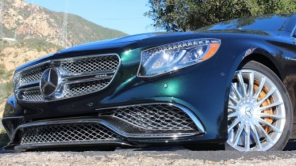 Mercedes-AMG S65 Coupe first drive review