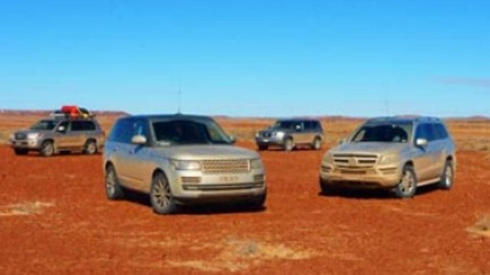 Outback comparison review: Range Rover v Mercedes v Toyota v Nissan