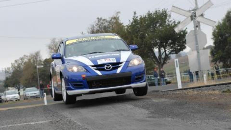 McRae and Bates to pilot Mazda3 MPS in 2008 Targa