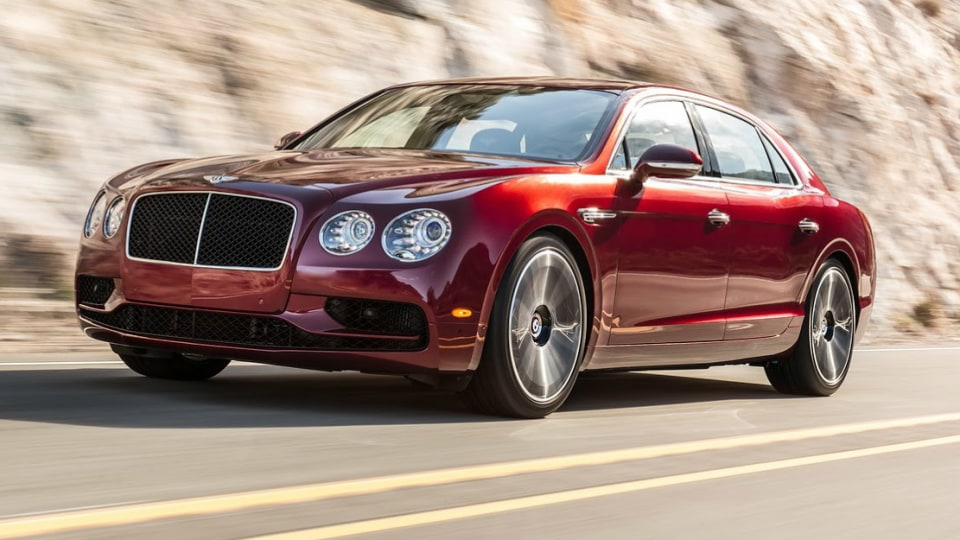 Bentley Flying Spur V8 S Revealed Ahead Of Geneva Debut