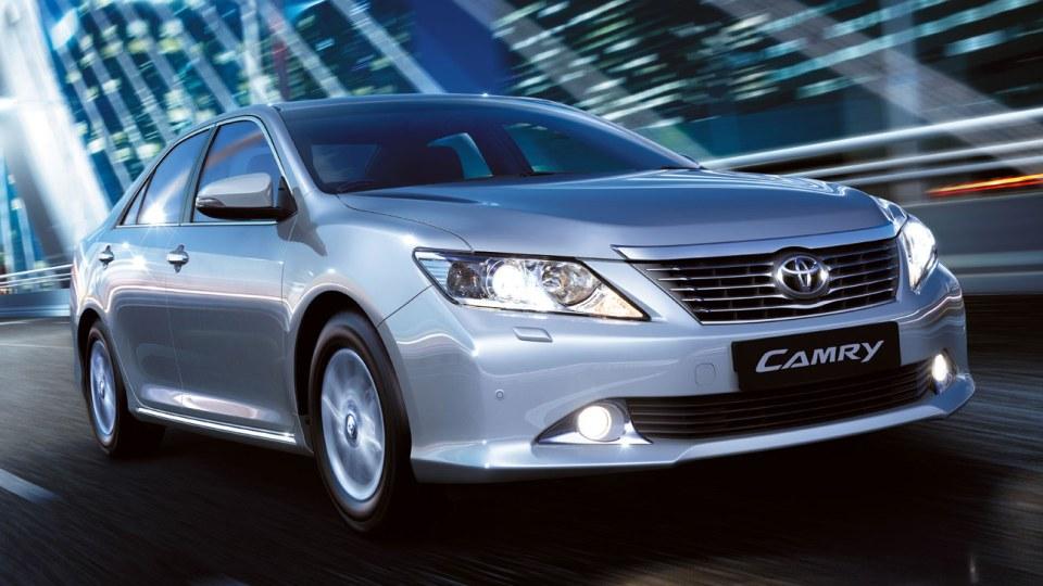 2012 Toyota Aurion Revealed As Ukraine's Camry: Report