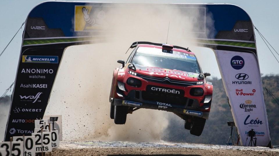 Sebastien Ogier wins 2019 Rally Guanajuato Mexico