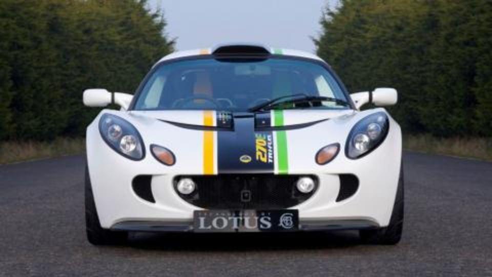201 kW Lotus Exige 270E Tri-fuel