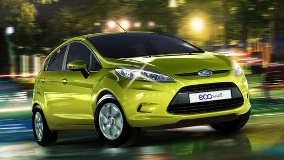 Ford Fiesta ECOnetic Shaves Fuel Consumption Figures For 2012