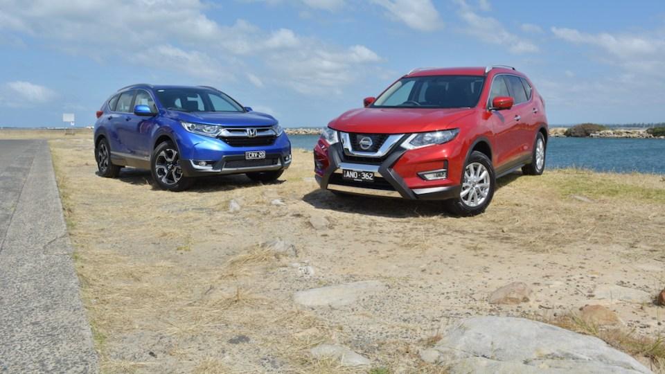 Seven-seat starters – Honda CR-V VTi-L v Nissan X-Trail ST-L Comparison Test