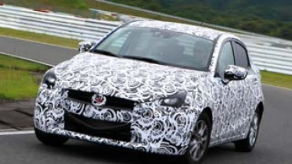 Mazda2 prototype first drive review