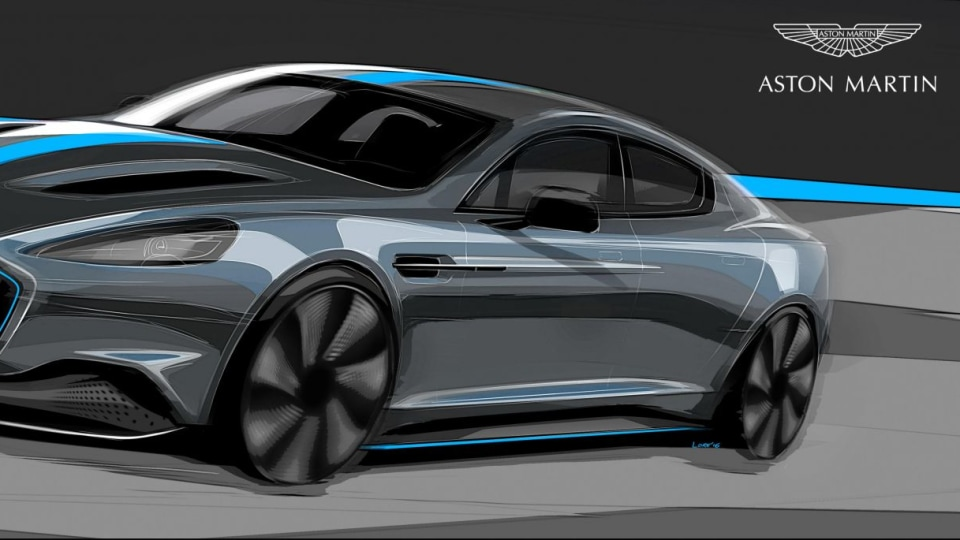 Aston Martin To Add Limited-Production EV To Range By 2019