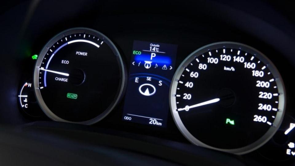 New Lexus IS range.