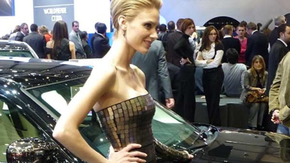 The girls of the Geneva motor show