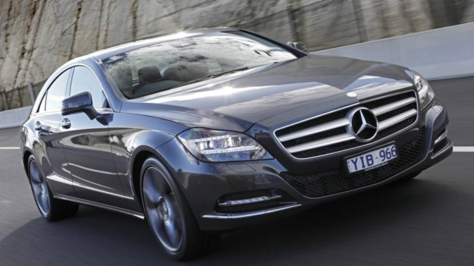 Mercedes-Benz released several upgraded models including the new CLS.
