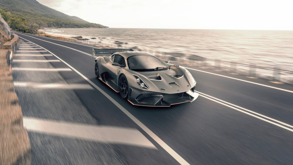 Australia's Brabham supercar to be road legal