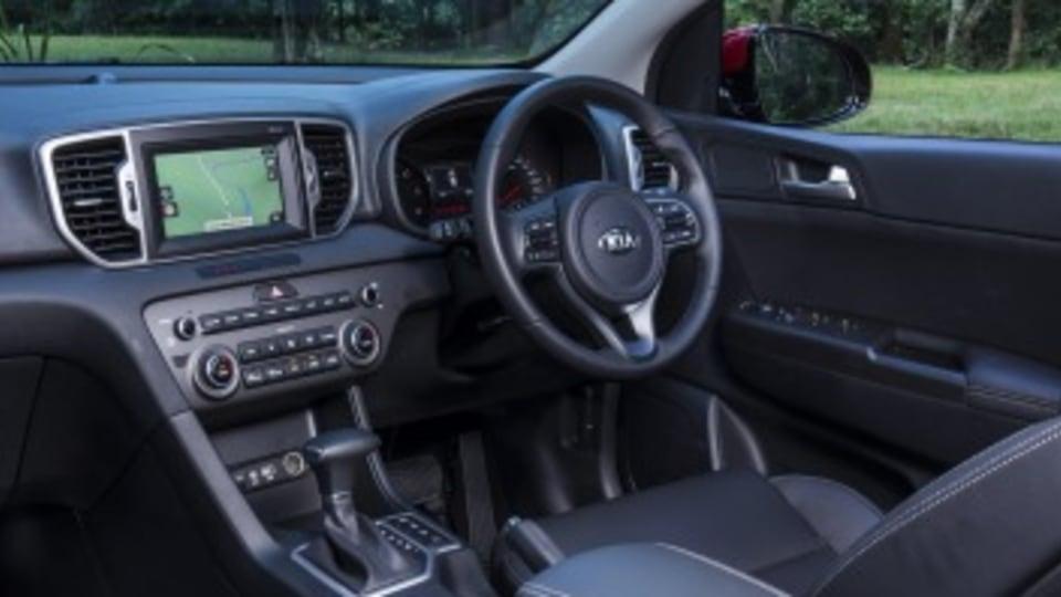 Mid-size SUV comparison: Kia Sportage