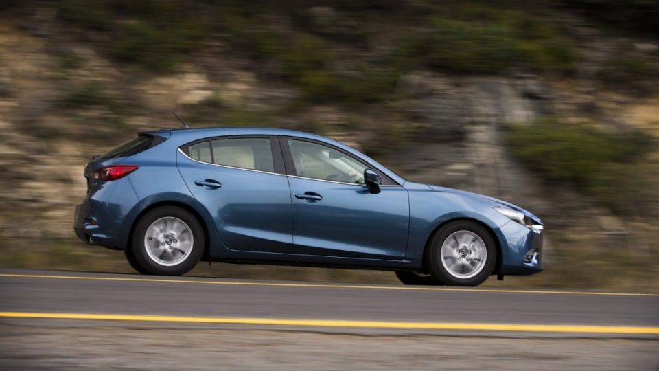Updated 2016 Mazda3 Maxx.