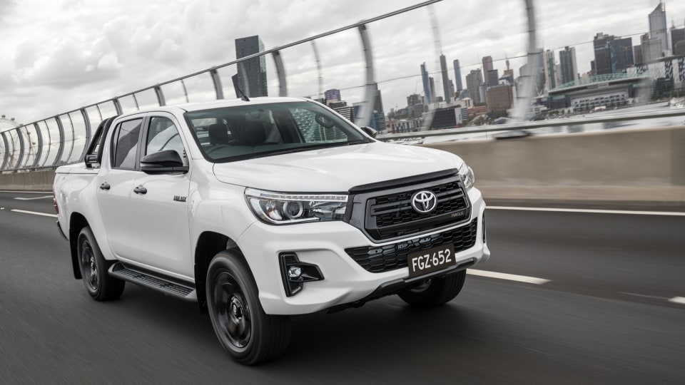 2018 Toyota HiLux Rogue.