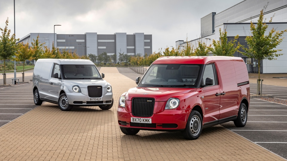 London taxi now offered as a van