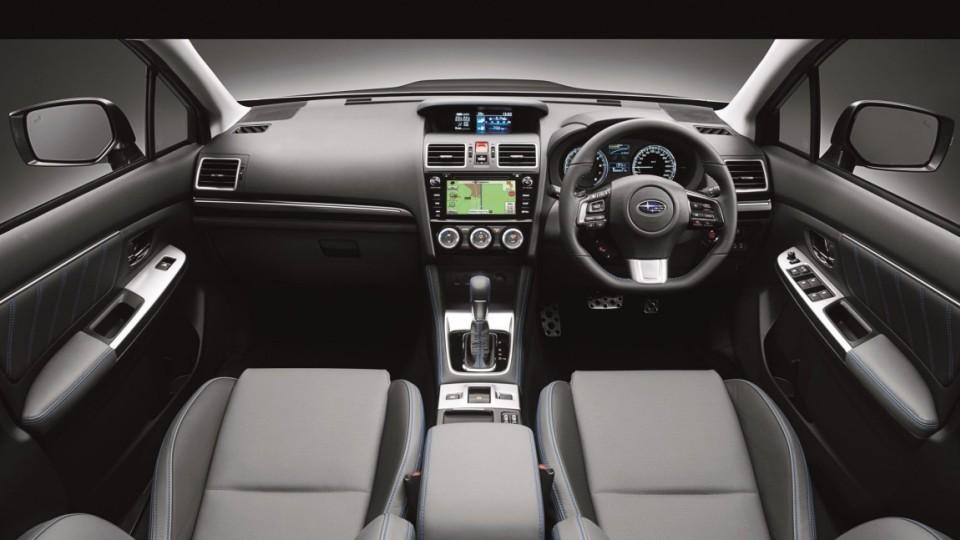 2016 Subaru Levorg GT-S interior.