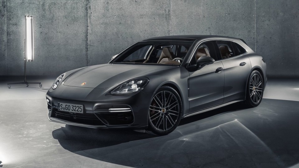 Porsche Grows Panamera Family With Sport Turismo Wagon