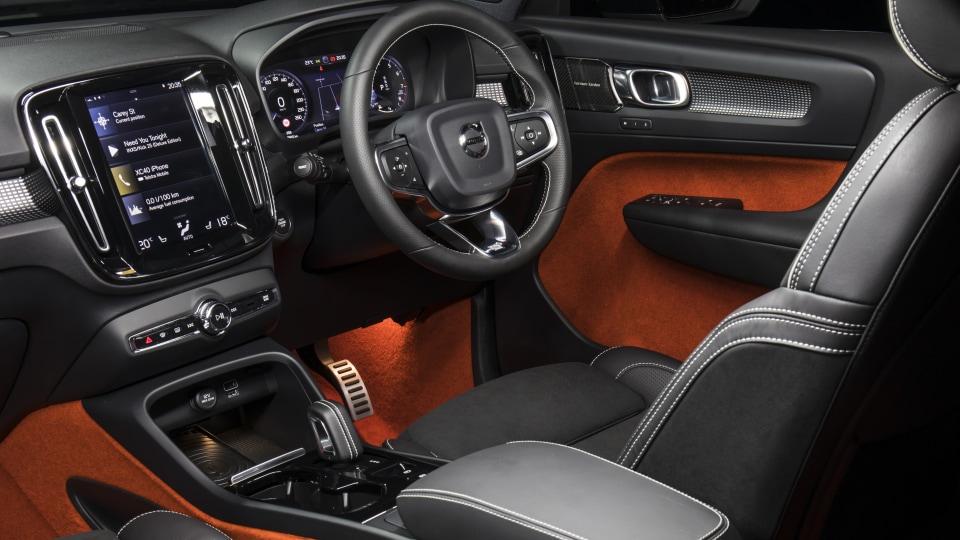2018 Volvo XC40 T5 R-Design.