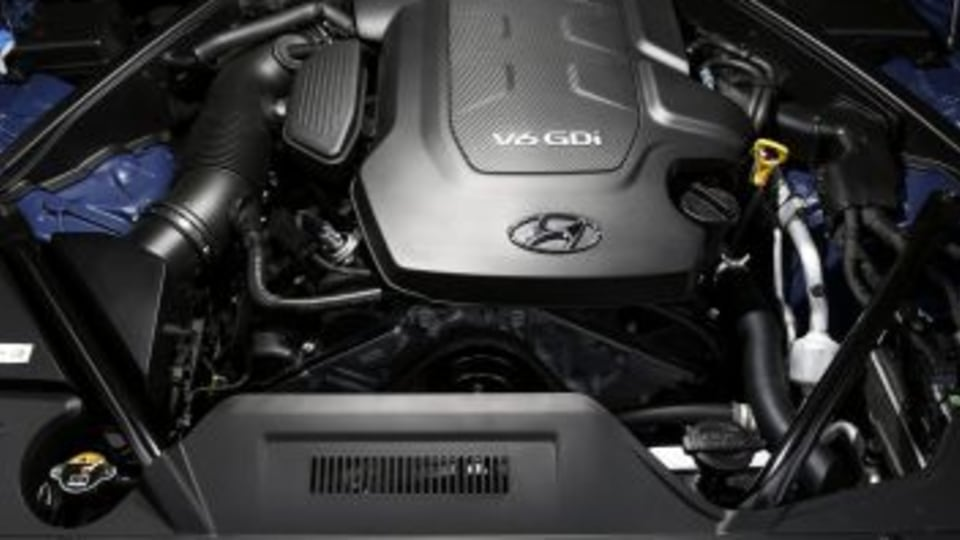 Hyundai Genesis is powered by a 3.8-litre V6