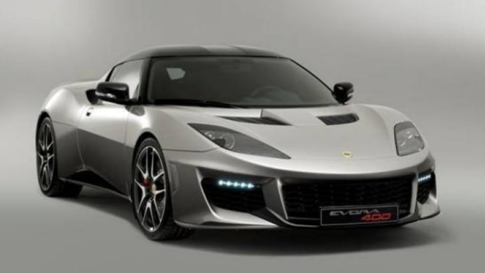 The new Evora 400 is Lotus' most powerful model.