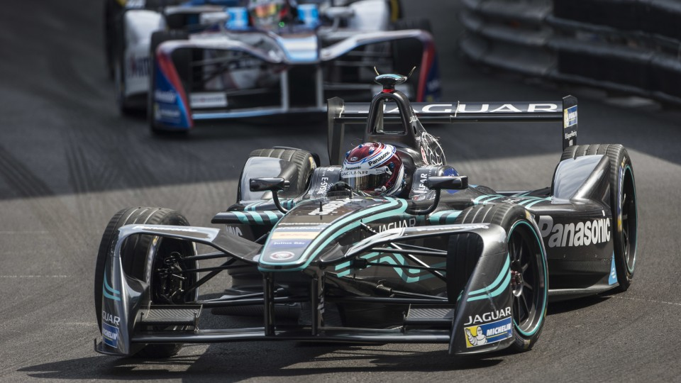 Nissan will join the likes of Jaguar (pictured) in Formula E.