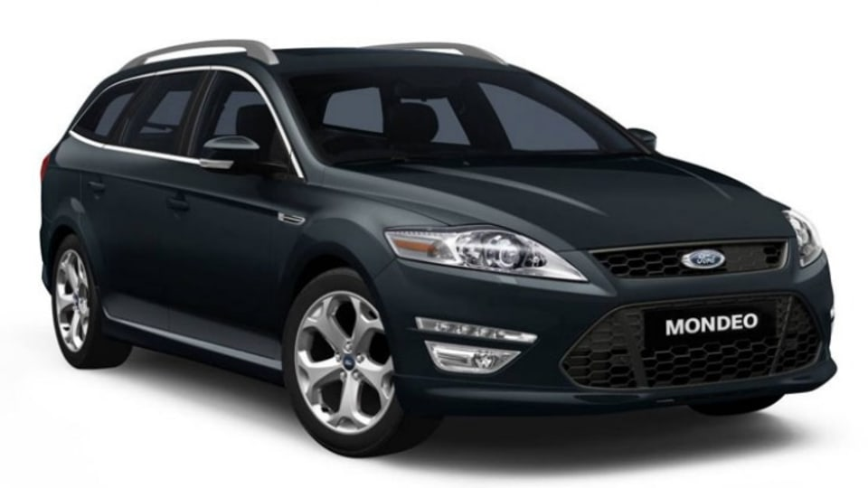 Ford's Mondeo wagon while technically a mid-sizer has as much back-seat space as a Commodore and has plenty of boot space.