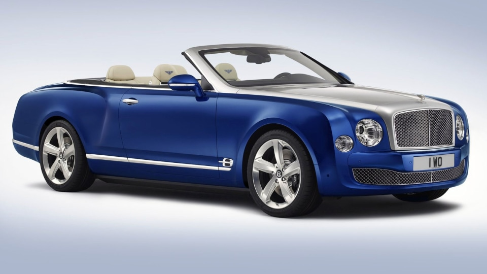 Bentley Mulsanne Convertible Could Be Built As A Limited Edition
