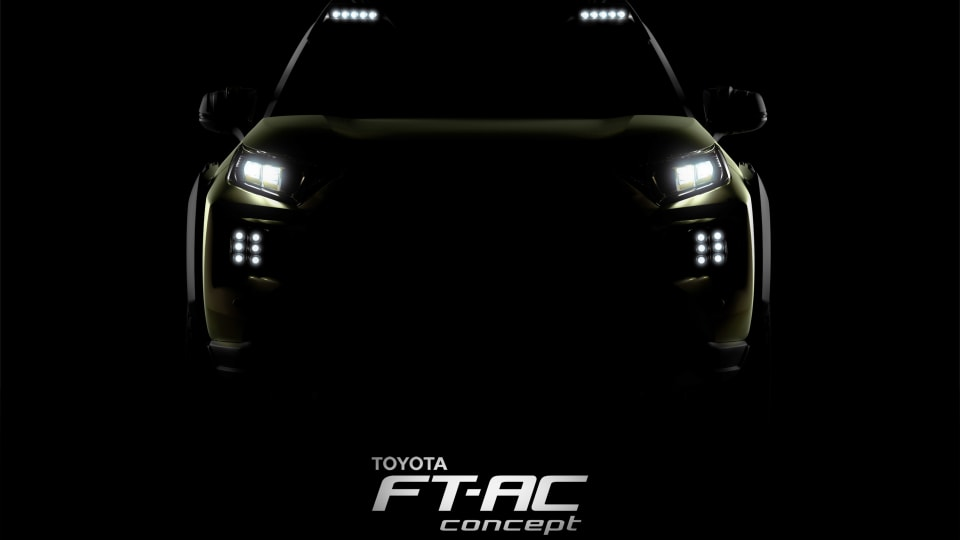 Toyota Gears Up For Adventure With FT-AC Concept