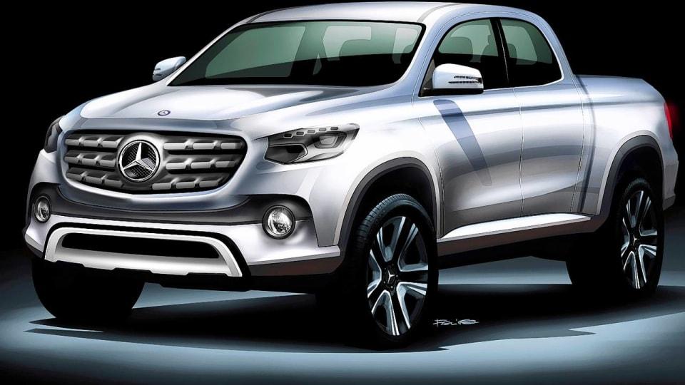 Mercedes-Benz Confirms One Tonne Pickup Plans