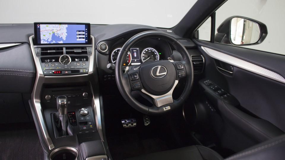 2018 Lexus NX300 F Sport.