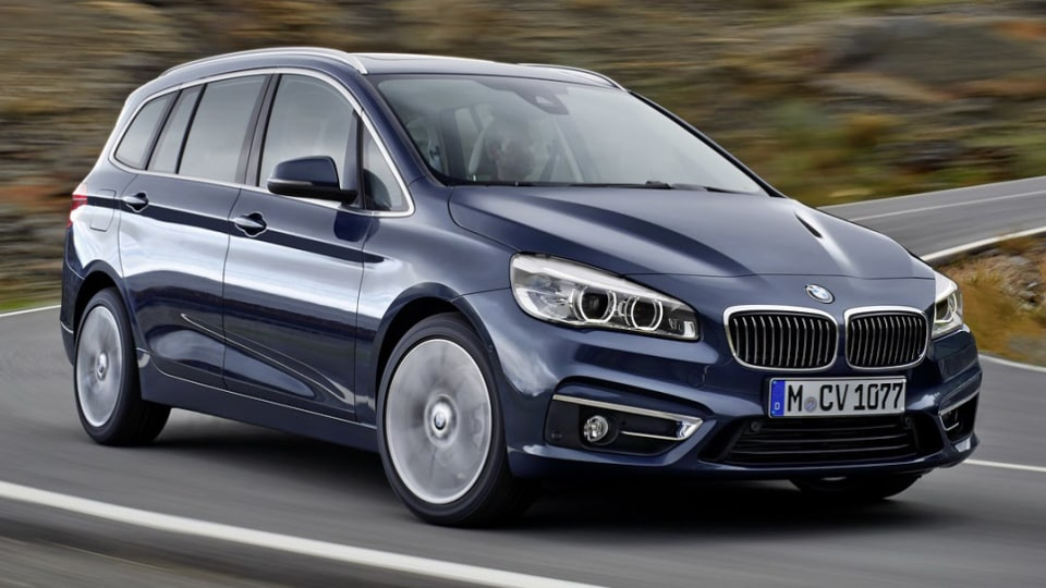 BMW's Less Active 2 Series Gran Tourer Seven-Seater Revealed, No Plans For Oz