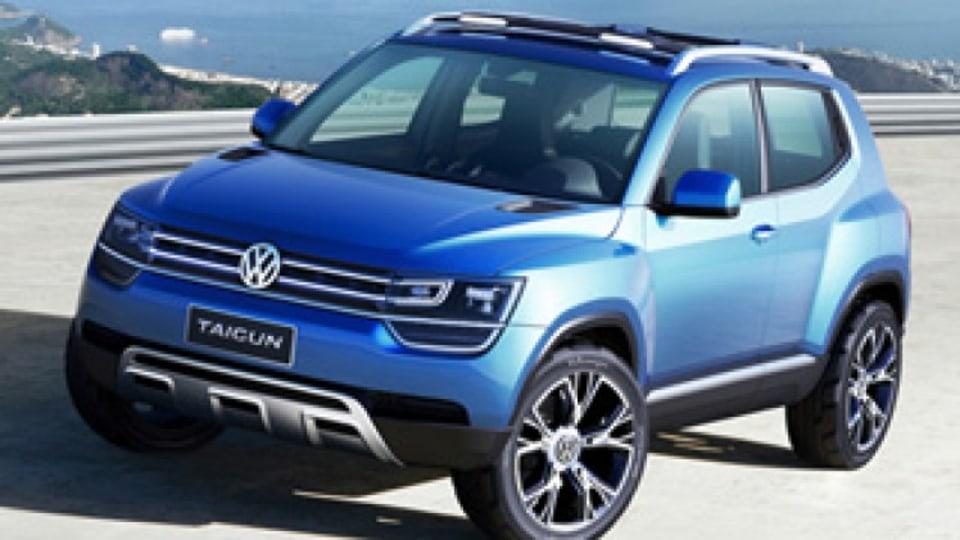 Volkswagen shows Taigun concept