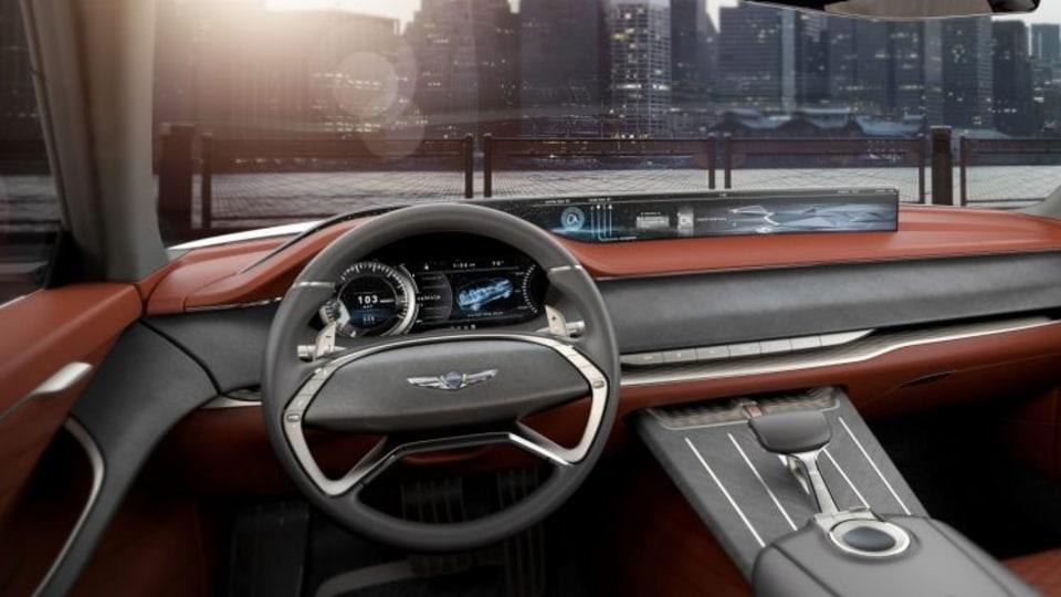 Genesis GV80 Concept. EMBARGO: 5.20AM 13/4/2017