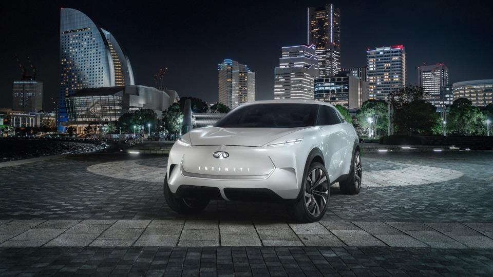 Infiniti QX Inspiration hints at electric SUV